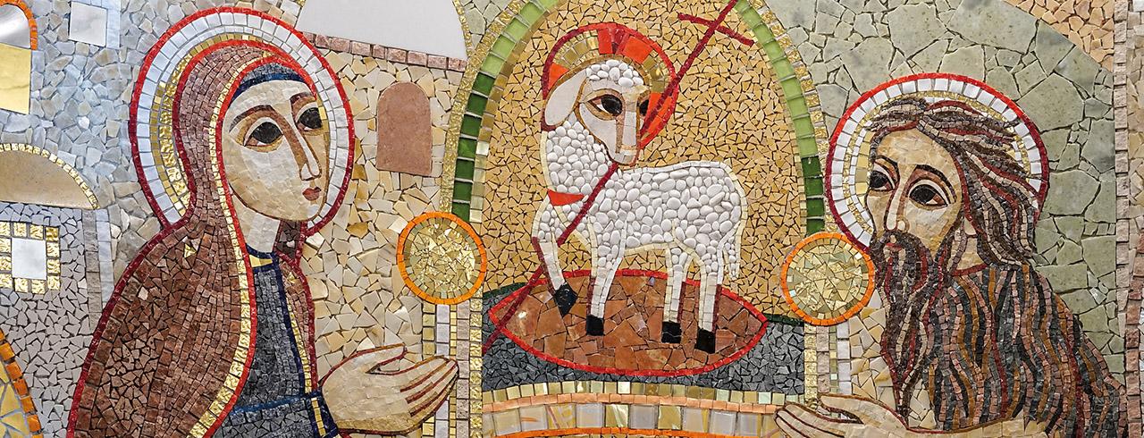 Cordero entronizado en la Jerusalén Celeste (2019)